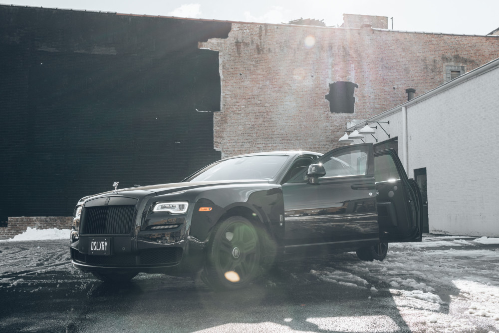 Rolls Royce Ghost (Black Label)